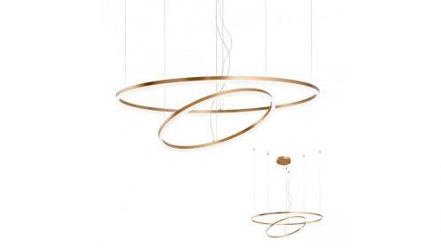 Lustra Orbit Led Brass 108 W