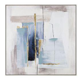 Tablou Blue Shades 82x82