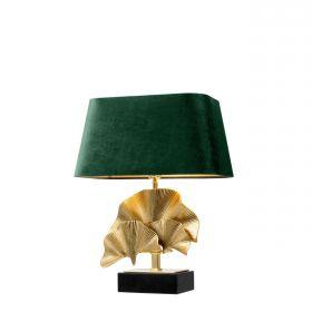 Veioza Olivier green velvet