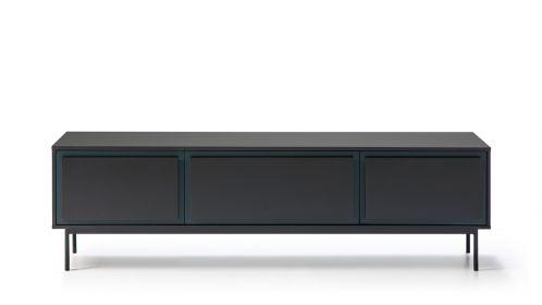 Comoda TV Forma Blue/Dark Grey 180 cm