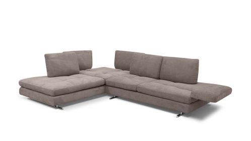 Canapea de colt Luna, stanga 3912 Tortora