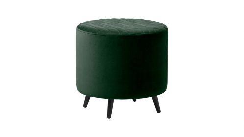 Taburet Ottowa green velvet