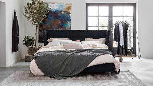 Pat Milano 2 Textil Celine Midnight Blue 160x200