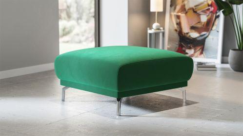 Pouf Pavia Velvet Green