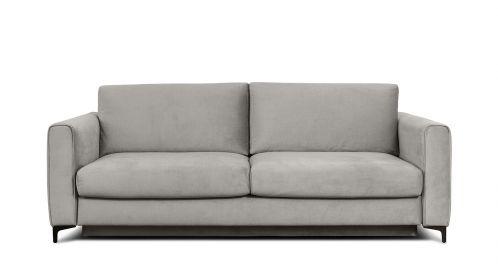 Canapea extensibila 3 locuri Bella S Kingston Light Grey