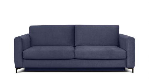 Canapea extensibila 3 locuri Bella S Kingston Denim Blue