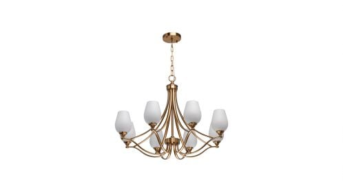Candelabru Palermo Brass 8X60W