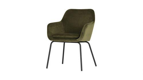 Set 2 scaune Mood Velvet Green