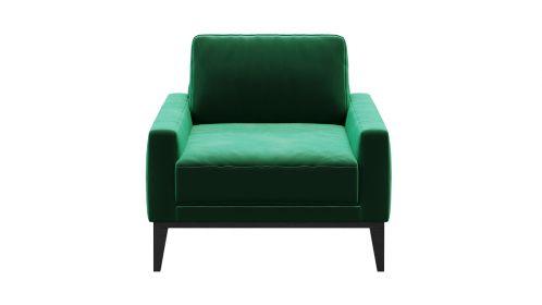 Fotoliu Calini Velvet Green