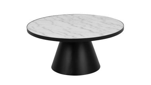 Masuta de cafea Soli White Marble 86 cm