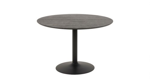Masa rotunda Ibiza Ash/Black 110 cm