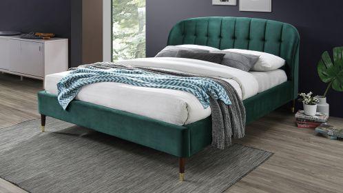 Pat Ambra green velvet 160x200
