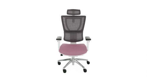 Scaun de birou Ioo White Chrome Cura Purple