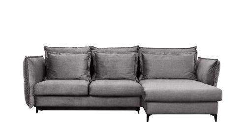 Canapea de colt extensibila Eva Kingston Grey S1, dreapta