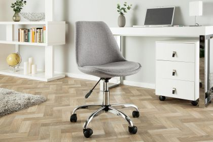 Scaun de birou Scandinavia Light Grey