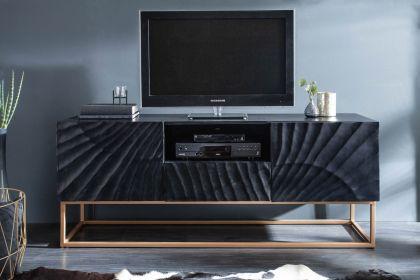 Comoda TV Scorpion Mango Black 160 cm