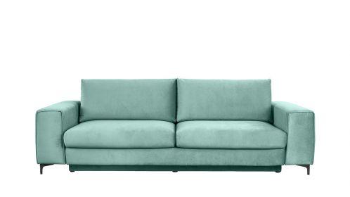 Canapea extensibila 3 locuri Bella L Piano Mint
