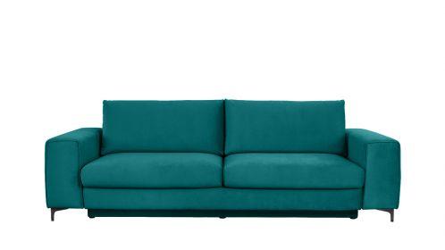 Canapea extensibila 3 locuri Bella L Piano Ocean Blue