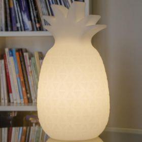 Lampa decorativa Samba White 40 cm + Baterie
