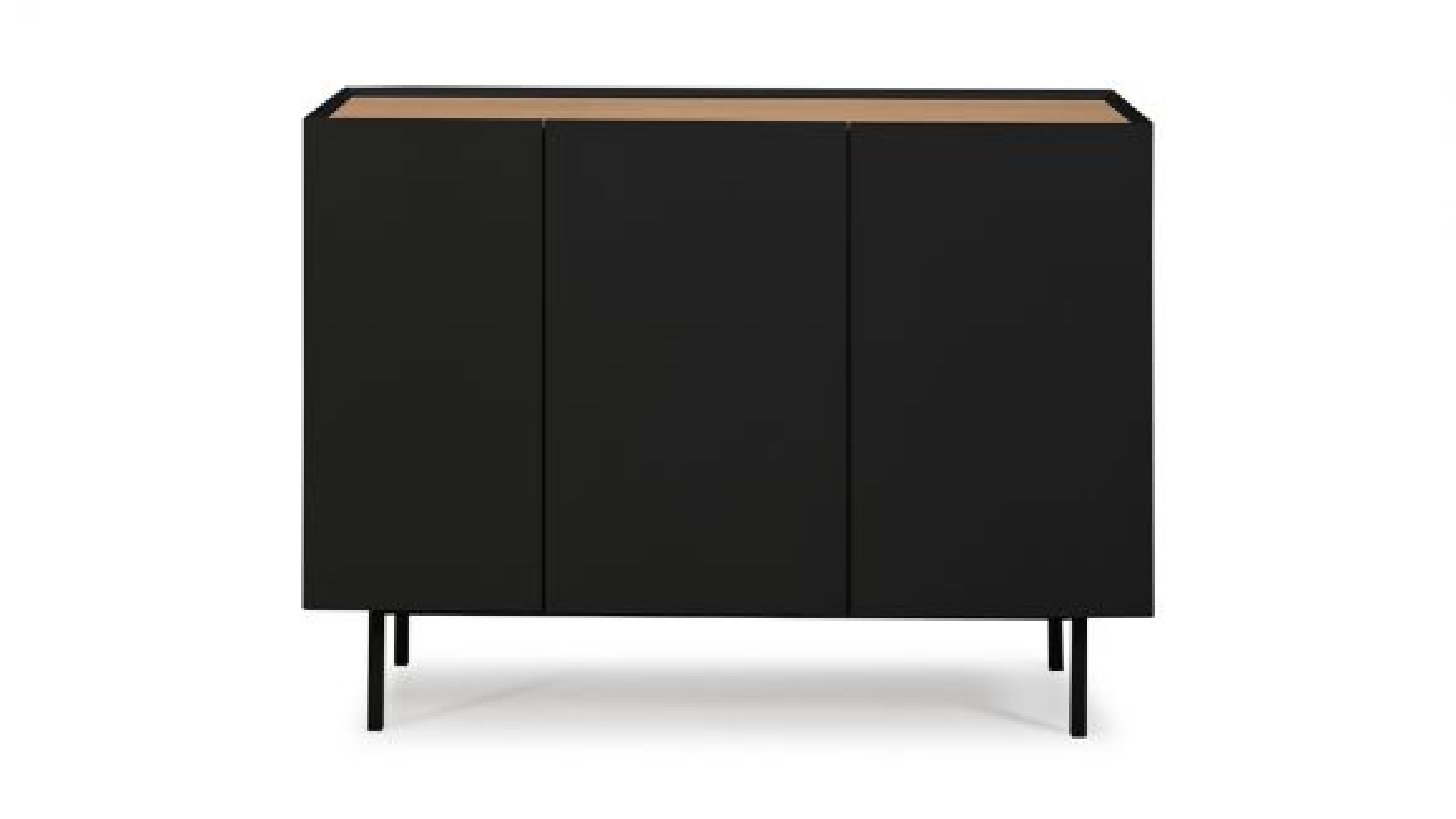 Comoda Arista Black 110 cm