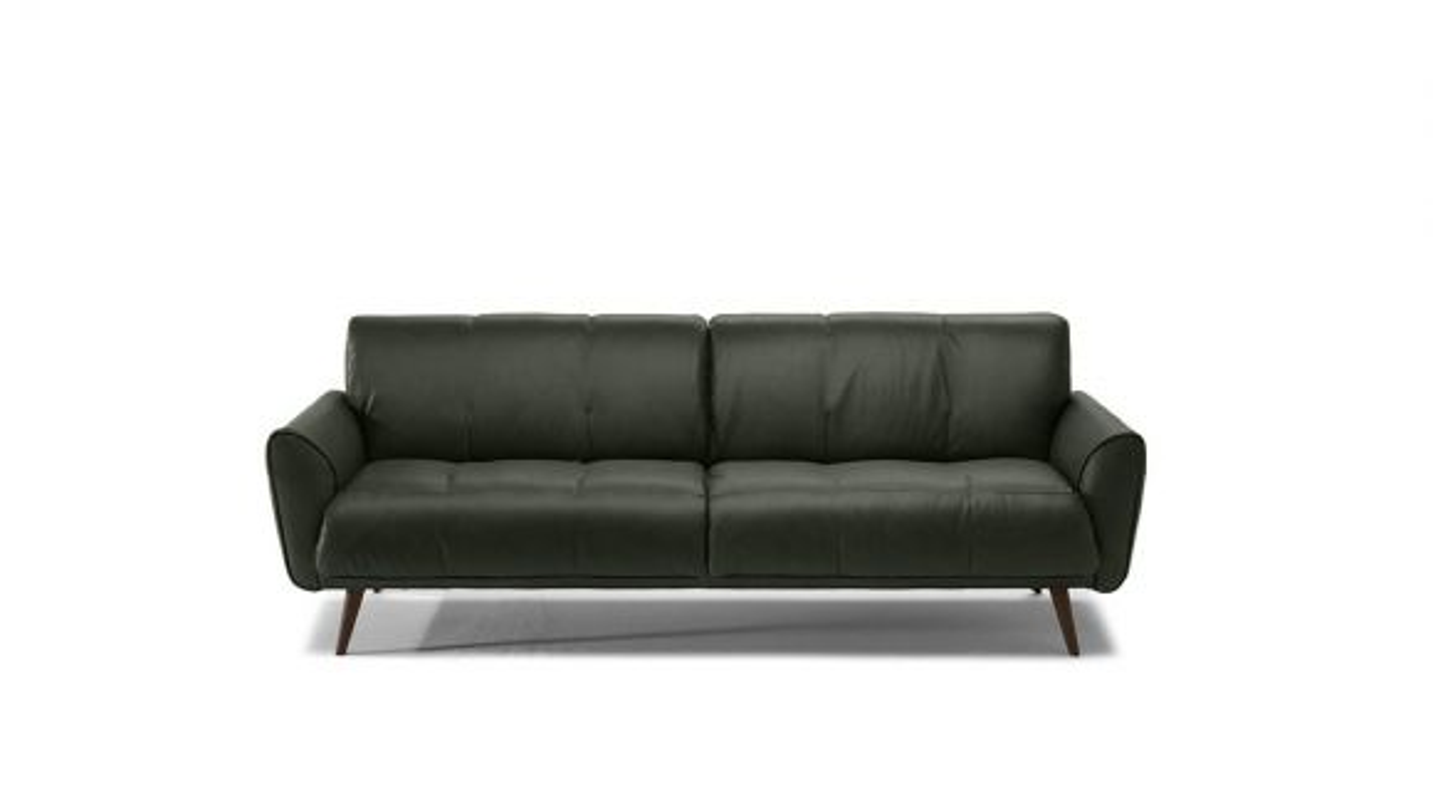 Canapea Liniara Talento 3 locuri Textil Dark Green