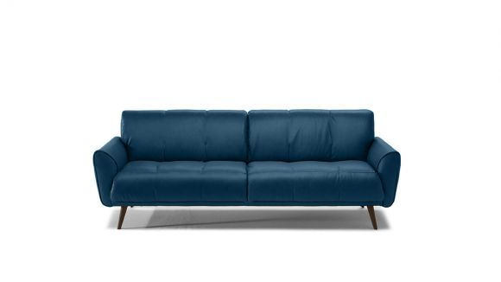 Canapea Liniara Talento 3 locuri Textil Dark Blue