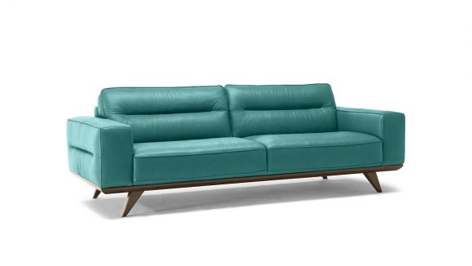 Canapea Liniara 3 locuri Adrenalina Textil Dioniso Turquoise