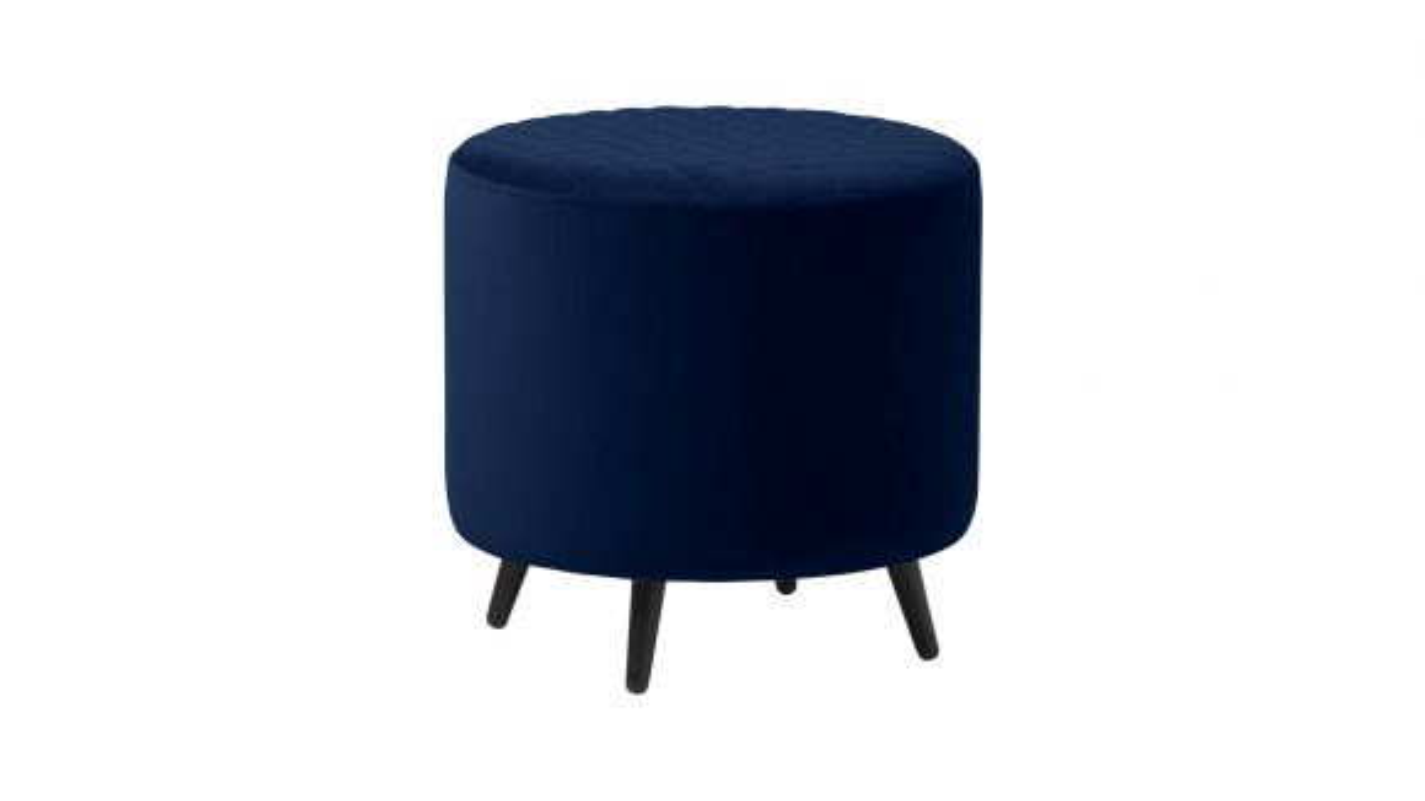 Taburet Ottowa blue velvet