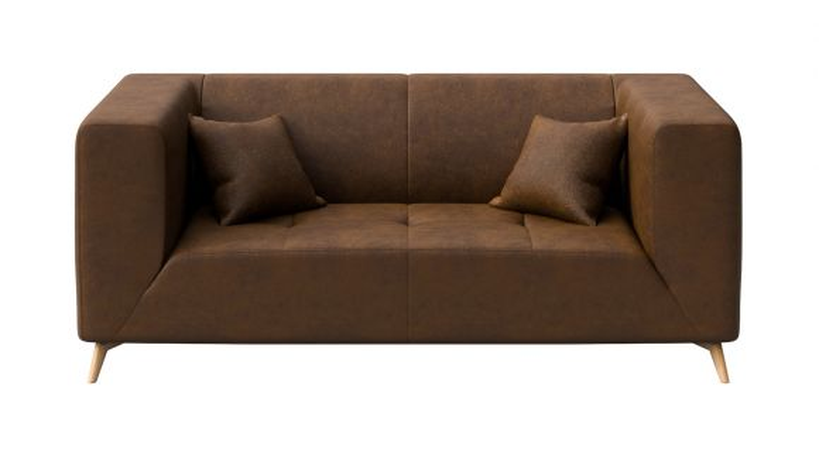Canapea liniara 2 locuri Asti Brown