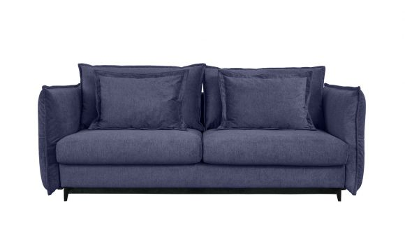 Canapea extensibila 3 locuri Eva Kingston Denim Blue