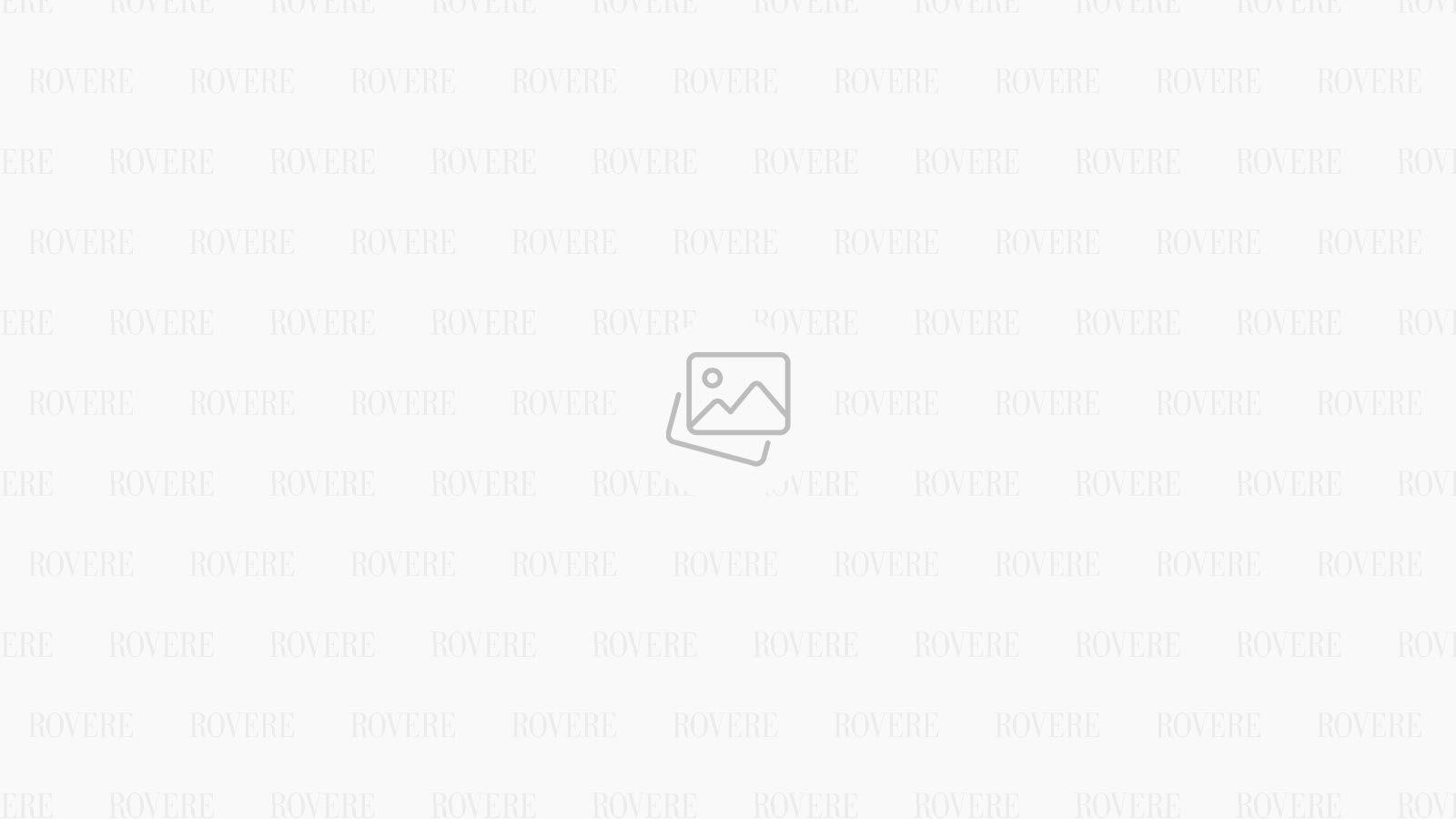Taburet Modern Barock Blue Velvet Gold 55 cm