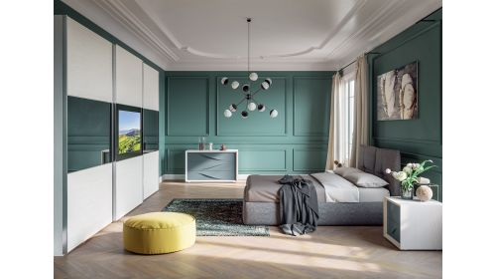 Mobilier dormitor Atelier