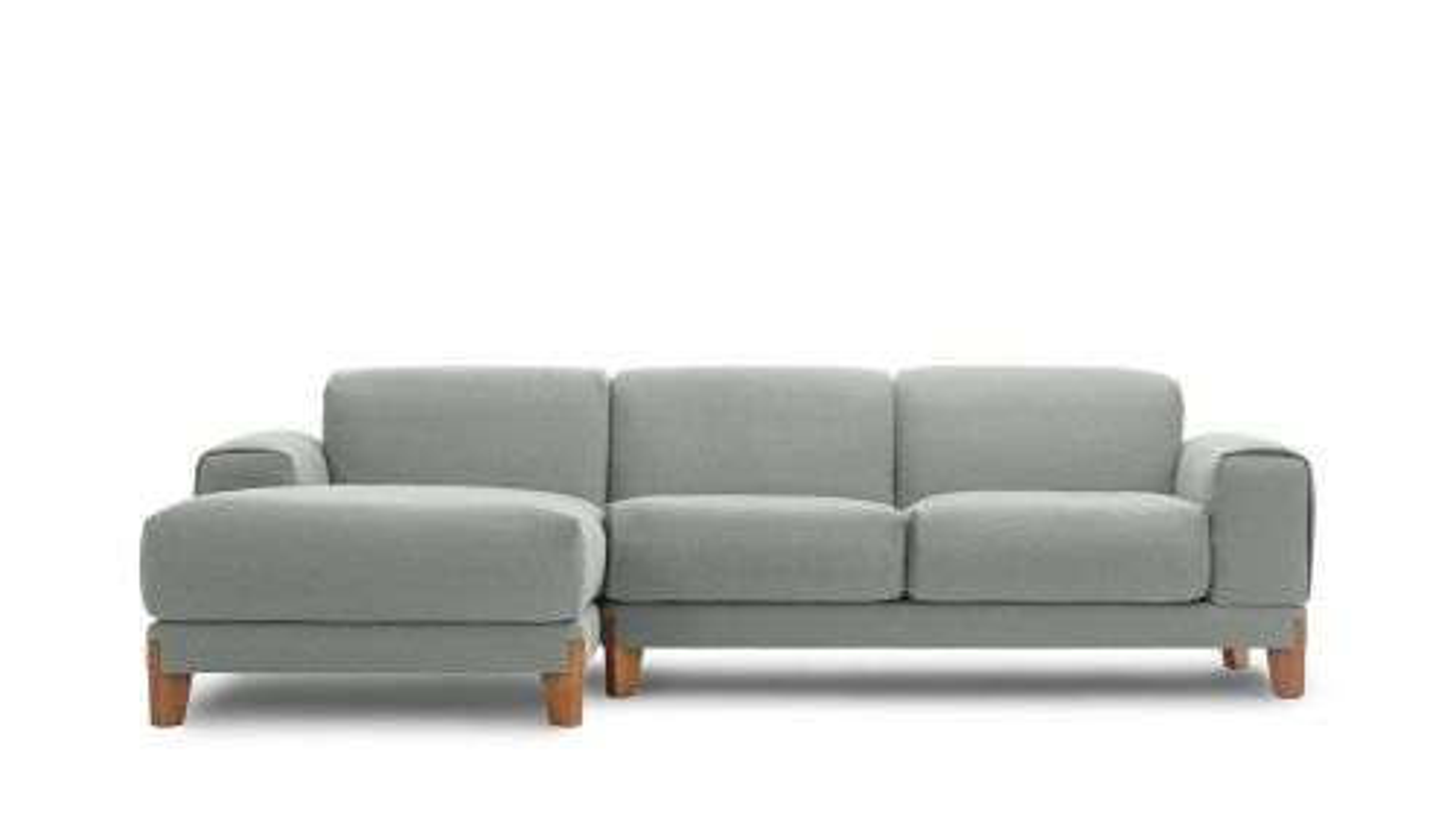 Canapea cu sezlong stanga Fjord Light Grey
