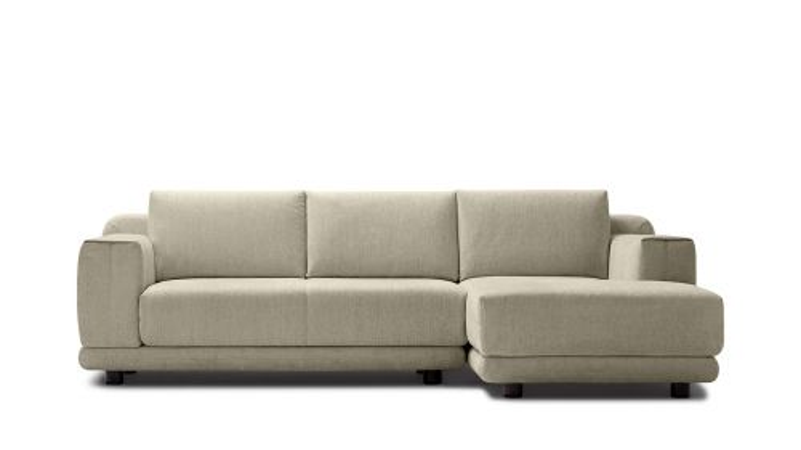 Canapea cu sezlong stanga Stage Beige