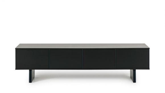 Comoda TV Minima Dark Grey/Dark Blue 196 cm