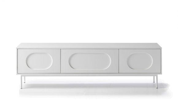 Comoda TV Orbita White 180 cm