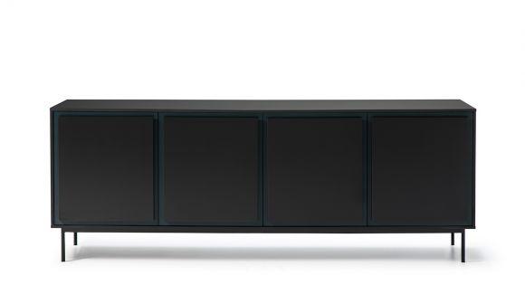 Comoda Forma Blue/Dark Grey 210 cm
