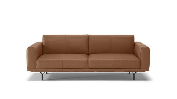 Canapea liniara Dalt 3 locuri maxi textil Brezza Brown