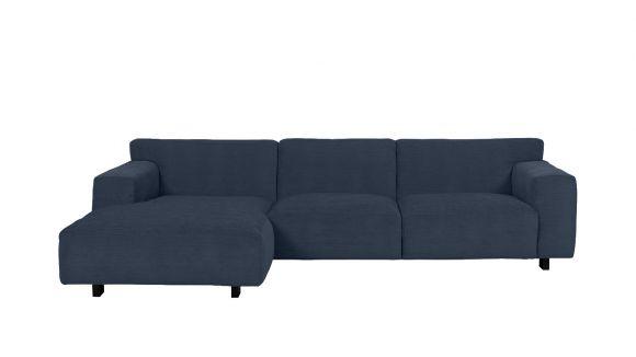 Canapea de colt Vesta Paris Steel, stanga