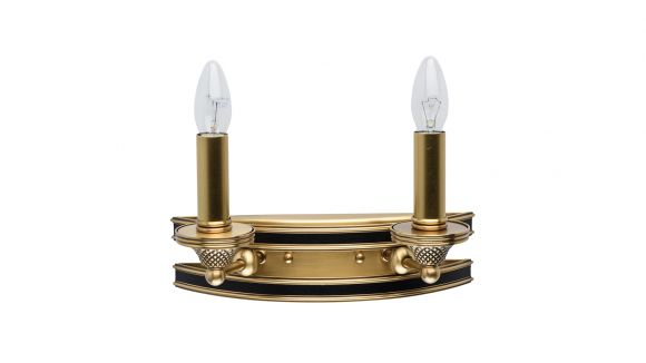 Aplica Bologna Brass 2X60W