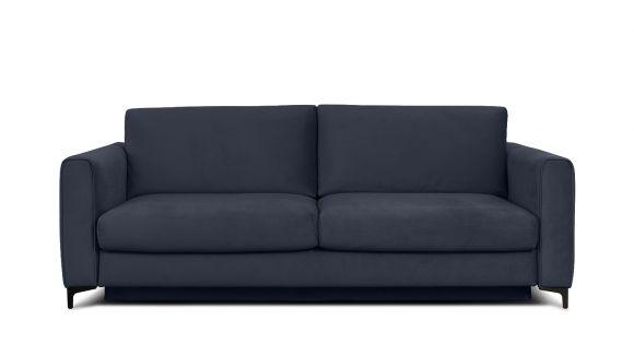 Canapea extensibila 3 locuri Bella S Piano Dark Blue