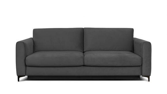 Canapea extensibila 3 locuri Bella S Piano Grey