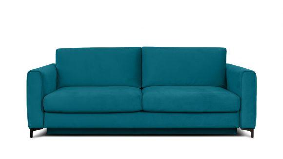 Canapea extensibila 3 locuri Bella S Piano Ocean Blue