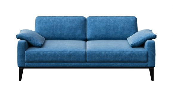 Canapea liniara 2 locuri Calini Italvelluti Turquise