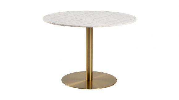 Masa Corby White/Gold 105 cm
