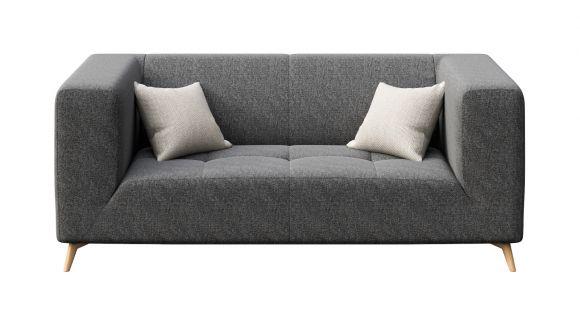 Canapea liniara 2 locuri Asti Dark Grey