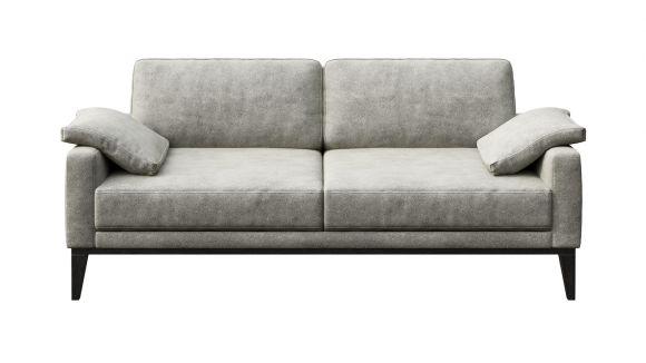 Canapea liniara 3 locuri Calini Grey