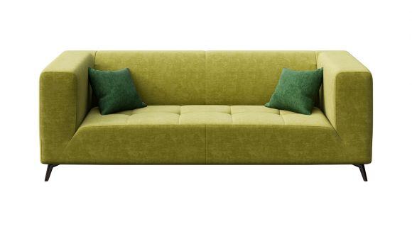 Canapea liniara 3 locuri Asti Italvelluti Olive