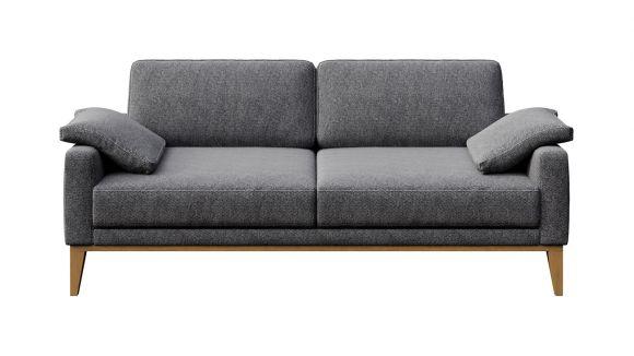 Canapea liniara 2 locuri Calini Dark Grey