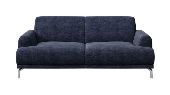 Canapea liniara 2 locuri Pavia Italvelluti Navy Blue